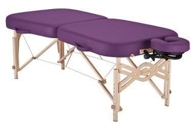 INFINITY® Massagetisch Paket klappbar - Abbildung Massageliege aufgeklappt